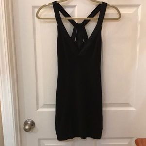 Bebe sexy little black dress